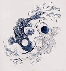yin yang koi by jenjens journey on deviantart
