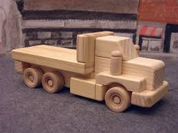 Free Plans Woodworking Toys by Wooden Toy Truck Wooden Toys Pinterest Wooden Toy Trucks