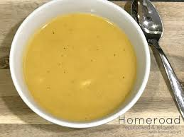 homeroad easy butternut squash soup recipe for thanksgiving