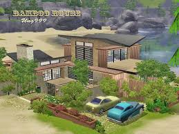mod hous mod the sims bamboo house