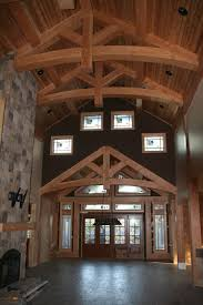 wood river log home plan comes to life in alberta canada