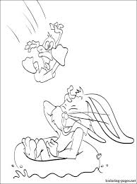 bugs bunny daffy duck coloring coloring pages