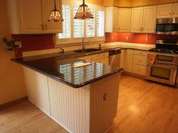kitchen design u shaped kitchen layouts countertop microwave