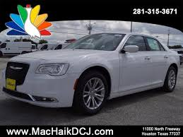 mac haik dodge chrysler jeep ram houston tx 2018 chrysler 300 touring l sedan in houston c8003 mac haik