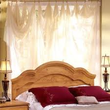 Curtains For Headboard Pine Headboards You U0027ll Love Wayfair