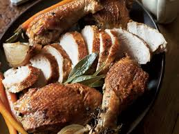 herbed turkey two ways recipe sam mogannam food wine