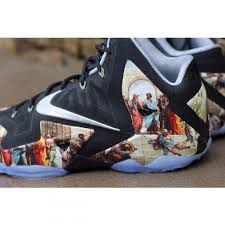 amac custom nike lebron 11 renaissance customs by amac customs sneakerfiles