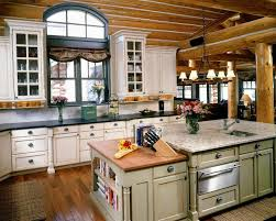 log cabin kitchen tables log cabin kitchens with rustic look