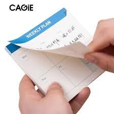 horaire bureau cagie mini pocket memo pad mensuel plan hebdomadaire vérifier liste