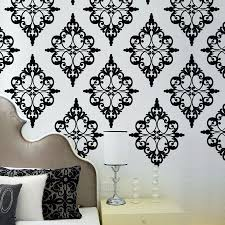 Wall Decals Patterns Color The by Damask Decals Wall Art Color The Walls Of Your House