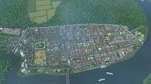 so i have been experimenting with medieval cities layout