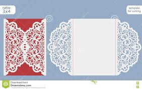 Greeting Cards For Invitation Laser Cut Wedding Invitation Card Template Cut Out The Paper Card