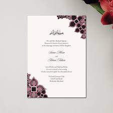 mehndi invitation wording sles muslim wedding invitations classic henna blossoms by
