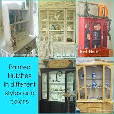 dreamingincolor painted hutches