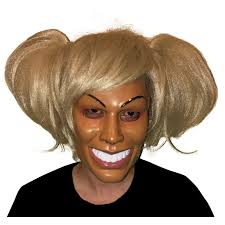 creepy mask creepy mask and wig combo asylumzone