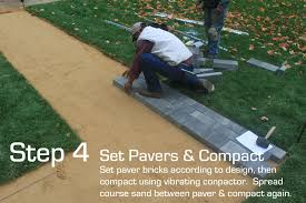 Patio Paver Installation Instructions by Sure Loc Edging Installation