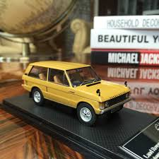 gold range rover 1 43 almost real land rover range rover1970 diecast car model gold