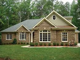 brick house modernck craftsman style ranch house plans images luxihome with