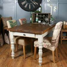solid wood vintage farmhouse table by h u0026f notonthehighstreet com