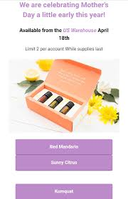 new essential oils announced for mother u0027s day doterra u2013 your