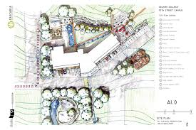 architectural site plan selkirk college conceptual site plan studio 9 architecture