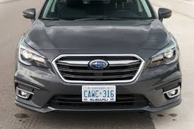 legacy subaru 2018 2018 subaru legacy first drive review improved handling and looks