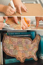 Personalised World Map Pinboard by Best 25 Corkboard Map Ideas That You Will Like On Pinterest