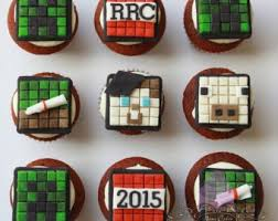minecraft cupcake etsy