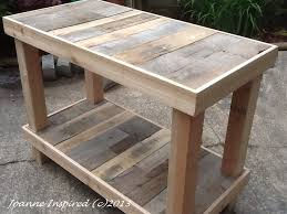 pallet project kitchen island work table pallet projects