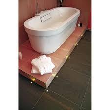 led spots badezimmer led einbaustrahler set bad v led einbauleuchte 2er set 14 w warm