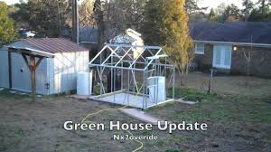 Greenhouse 6x8 New Harbor Freight 6x8 Greenhouse Update Youtube