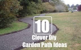 10 really clever diy garden path ideas diy home life