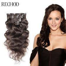 one clip in hair extensions online get cheap hair extensions thick hair aliexpress