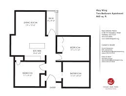 Two Bedroom Apartments Floor Plans 20 Small Two Bedroom Apartment Floor Plans Electrohome Info