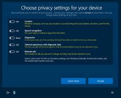 new windows 10 privacy controls just a little snooping u2013 or the