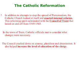 Council Of Trent Reforms Reformation Spreads10