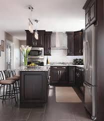 Best  Brown Cabinets Kitchen Ideas On Pinterest Brown Kitchen - Dark kitchen cabinets