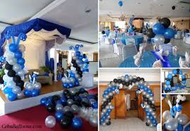balloon decoration package for a debut birthday party at crown