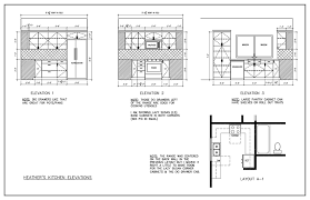 House Layout Program Kitchen Floor Plan Tile Layout Elevation The Island House Plans