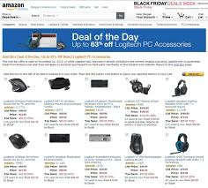 black friday off in amazon tablet up to 63 off logitech pc accessories amazon black friday deals