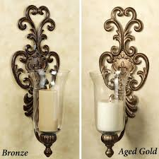 Glass Wall Sconces For Candles Sconce Hurricane Wall Sconce Candle Holder Uk Wooden Wall Candle
