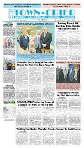 town crier newspaper may 3 2013 by wellington the magazine llc