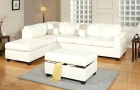 Left Facing Sectional Sofa White Sectional Sofa With Chaise White Cream Leather Sectional