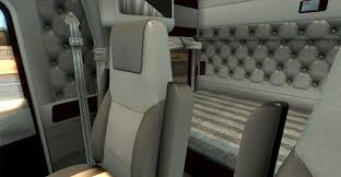 2016 kenworth w900 kenworth w900 lux interior v2 for truck american truck simulator
