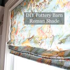 Pottery Barn Roman Shades Beautiful Cordless Roman Shade Kit And Diy Pottery Barn Roman
