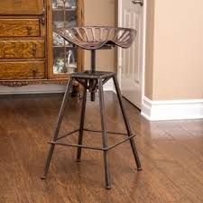 rustic industrial bar stools rustic counter bar stools for less overstock com