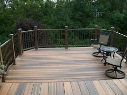 modest ideas composite decks beautiful decks by design inc usa
