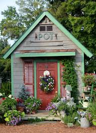 dream little flower shed i u0027d love this at the bottom of my garden