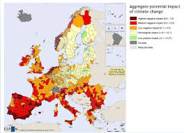 United States Climate Regions Map by Adaptation Policy In The Eu U2013 An Overview Climate Policy Info Hub