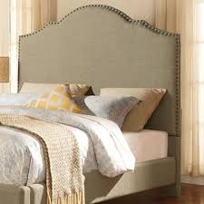 Full Fabric Headboard by Homelegance Ember Contemporary Queen Upholstered Headboard With